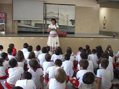 """O programa foi apresentado na secretaria de educação e já está sendo desenvolvido com o nome  """"Ler Elias"""". (foto: Reprodução / TV Sul)"""