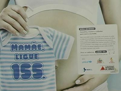 O objetivo é levar qualidade de vida durante a gestação e no primeiro ano de vida do recém nascido. (foto: Reprodução / TV Sul)