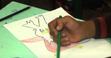 Concurso de desenho agita os alunos da Escola E. Dr. Benedito Leite Ribeiro