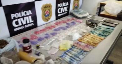 Engenheiro é preso em Poços de Caldas suspeito de tráfico de drogas