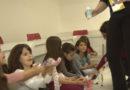Crianças aproveitam uma noite especial no CNA
