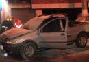 Carro pega fogo na Avenida Dona Floriana