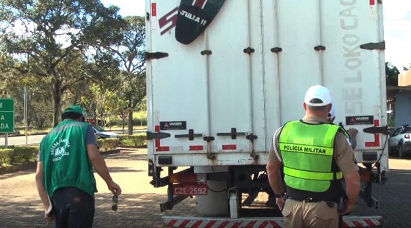 Instituto Mineiro de Agropécuária realiza operação sanitária na rodovia