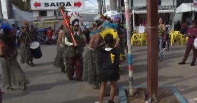 Veja como estão os preparativos para a tradicional festa de São Benedito em Machado