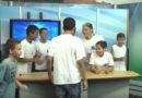 Tv Sul recebe estudantes da Escola Estadual Dona Queridinha Bias Fortes
