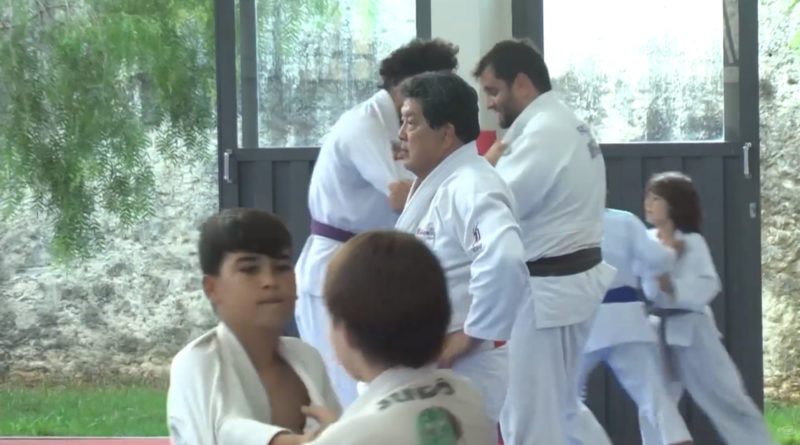 Sensei Marcio Nobuharu dá intensivo de Judô em Guaxupé
