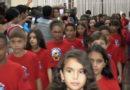 Formatura do Projeto Bombeiro Mirim reúne pais e familiares no Clube Operário