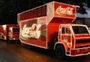 Caminhão da Coca-Cola passa nesta quinta-feira em Guaxupé