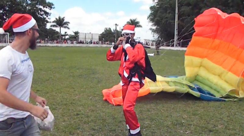5ª edição do Natal do Amor terá papai noel paraquedista