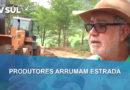 Produtores se unem e fazem melhorias nas estradas de terra em Patos de Minas