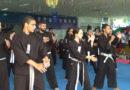 Mais de 65 praticantes de hapkidô participaram da troca de faixa neste fim de semana