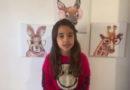 Guaxupeana de 7 anos manda recado diretamente da Itália
