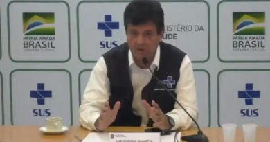 Ministro critica ação dos estados: quarentena só será decretada depois de estudo com diversas áreas