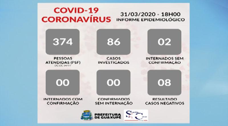 Prefeitura divulga os dados do informe epidemiológico nesta terça-feira