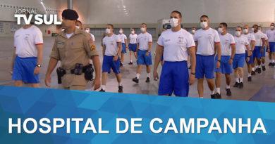 Hospital de Campanha Expominas terá capacidade para 900 leitos