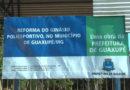 Revitalização do Ginásio Poliesportivo marcará nova fase para o esporte em Guaxupé