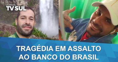 Gerente e suspeito morrem em tentativa de assalto ao Banco do Brasil em Guaxupé