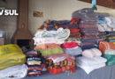 Associação Atlética Pangaré e colaboradores promove doação de roupas e agasalhos