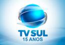 TV Sul completa 15 anos no ar neste 1 de junho