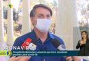 Presidente Bolsonaro testa positivo em exame de Covid-19