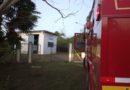 Suposto princípio de incêndio em uma bomba d`água da Copasa