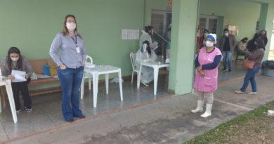 Prefeitura realiza testes para Covid-19 em massa nos idosos do Lar São Vicente e Vila Frederico Ozanam