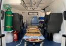Governo municipal entrega nova ambulância para Secretaria de Saúde