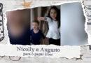 Homenagem de Dia dos Pais – Nicolly e Augusto para o papa Eber