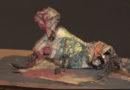 Artista plástico Reynaldo Prieto faz exposição de suas obras de arte sobre a vida do morador de rua
