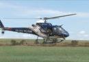 Militares da 6ª Brave PMMG fazem treinamento com helicóptero para combate de incêndios florestais
