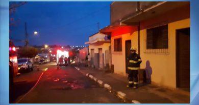 Risco de explosão por vazamento de gás mobiliza Bombeiros, Samu e Polícia Militar