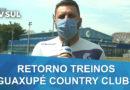 Guaxupé Country Clube retorna com treinos táticos do futebol da categoria de base