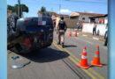 Bombeiros atendem ocorrência de acidente automobilístico em Guaxupé