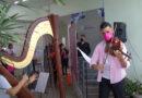 Projeto em hospital leva música aos pacientes e seus familiares