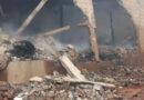 Incêndio destrói  depósito de pneus em Nova Resende