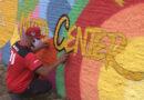 Grafiteiros conhecidos nacionalmente fazem trabalhos em Poços de Caldas