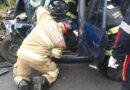 Bombeiros e Samu atendem mais um grave acidente na BR-146