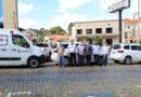 Secretarias de obras e saúde recebem novos veículos
