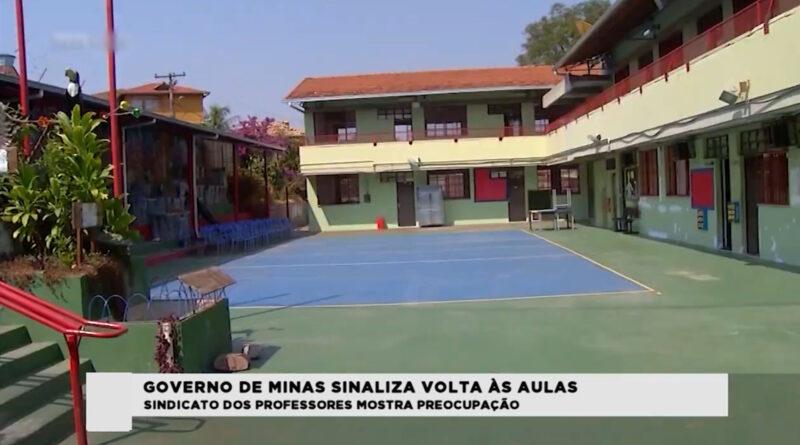 Governo de Minas apresenta critérios para retomada de aulas presenciais