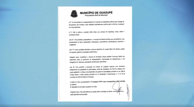Prefeitura autoriza abertura de atividades comerciais e academias