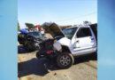 Acidente envolvendo 3 veículos deixa duas pessoas feridas na MG-449