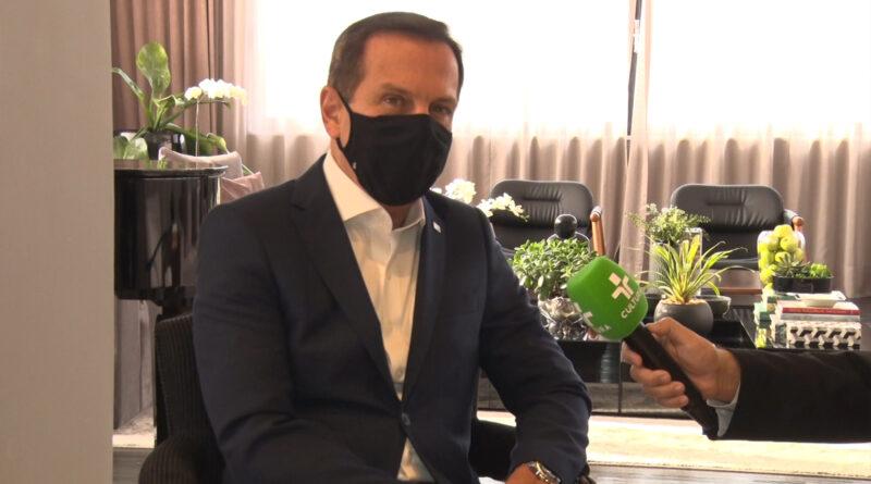 Governador João Doria fala sobre a vacina Butanvac